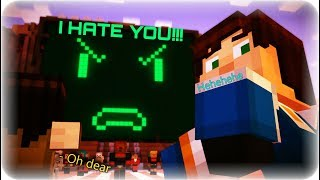 HOW TO UPSET A COMPUTER!!! Minecraft Story Mode Episode 7 Access Denied Part 2: PAMA