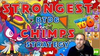 Strongest BTD6 Chimps Strategy!!