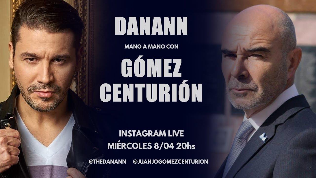 ¡IMPERDIBLE mano a mano EN VIVO entre DANANN y GÓMEZ CENTURIÓN!
