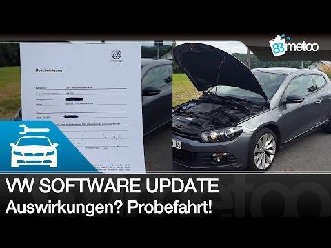 VW Software Update Auswirkung mein Feedback - VW Scirocco Umrüstung nach Abgasskandal - 83metoo