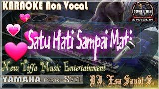 Satu Hati Sampai Mati KARAOKE Tanpa Vokal - Tiffa Music Entertainment
