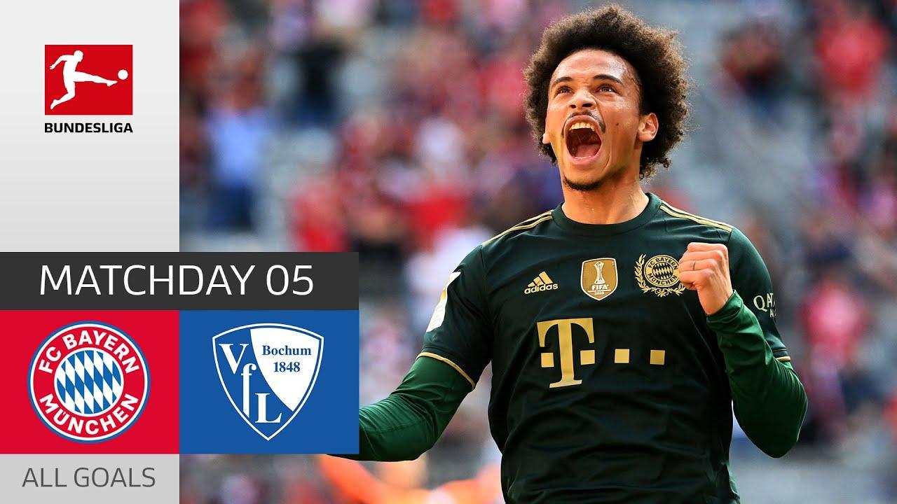 Download Bayern's Goal Factory on Fire   Bayern München - Bochum 7-0   All Goals   MD 5 – Bundesliga 2021/22