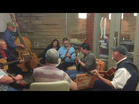 Jam Session at the Western Hills Bluegrass Festival