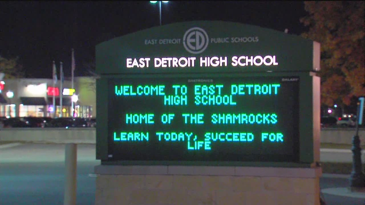 swimming pool accident at east detroit high scool