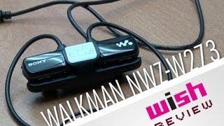 Música para ejercitarse incluso en el agua, Walkman NWZ-W273