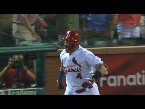 Yadi's insurance grand slam proves to be crucial in Cards' 11-8 win over Nats