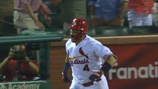 Molina's grand slam keeps Cardinals rolling