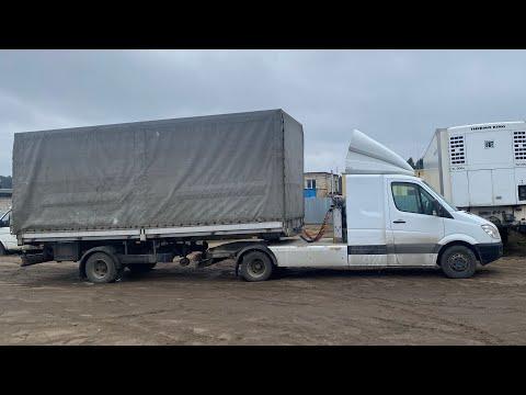 Минск MERCEDES SPRINTER Сидельный тягач грузоподъемность 7 т Разборка Европейских грузовиков тягачей