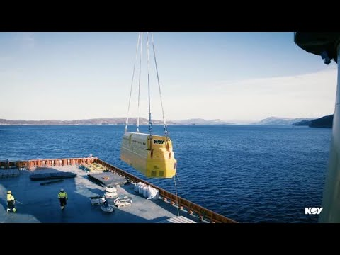 Seabox™ subsea water treatment system installation animation