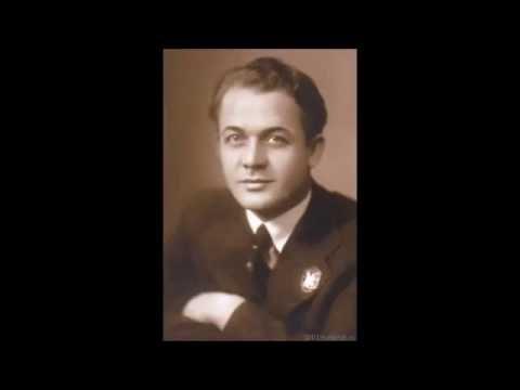 С.Я. Лемешев / Lemeshev - early recordings - ранние записи (радиопередача, ведущий - О. Ф. Шишов)