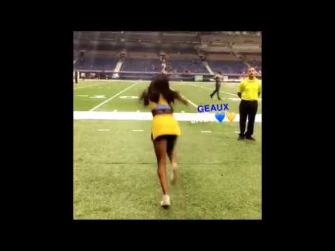 College Cheerleaders Tumbling - Historically Black Colleges