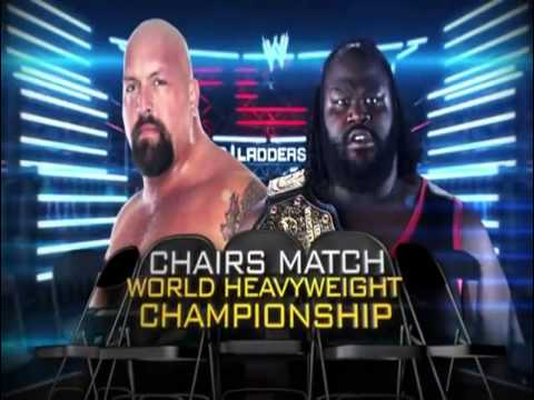 WWE TLC Tables,Ladders And Chairs) 2011 Match Card