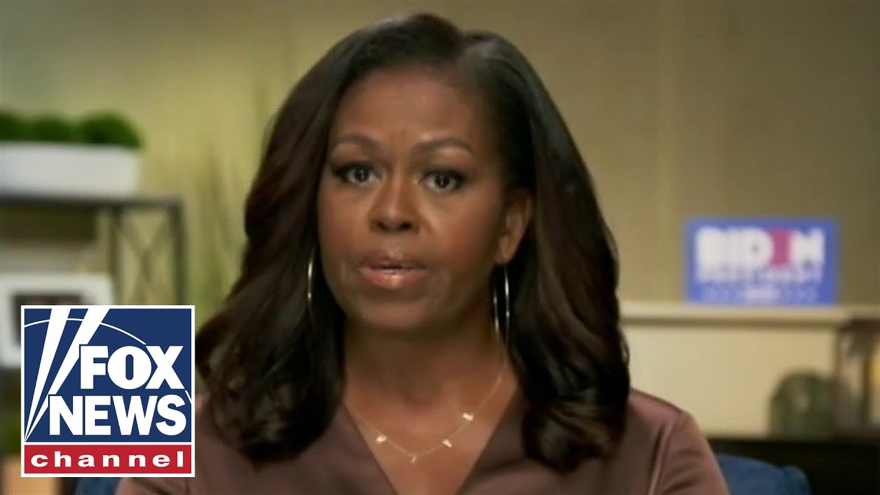 Trump fires back after Michelle Obama calls him the 'wrong president'
