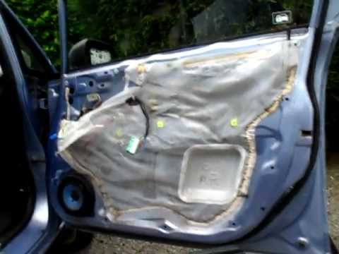 Honda Fit/Jazz door panel removal : fit door - Pezcame.Com