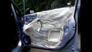 Honda Fit/Jazz door panel removal
