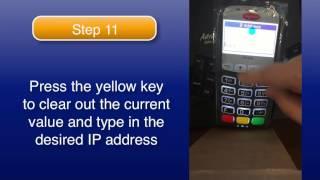 Configuring Ingenico with Static IP