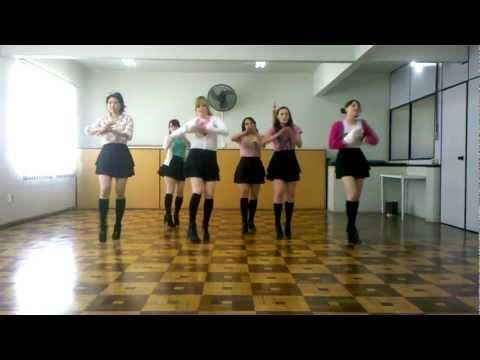 開始Youtube練舞:Bo Peep Bo Peep-T-ara | 慢版教學