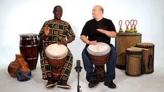 Beginner Djembe Drum Solos | African Drums