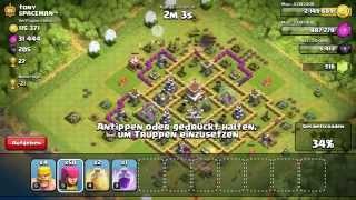 Let's Play Clash of Clans #011 - Angriff & Verteidigung [Deutsch/German]