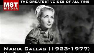 100 Greatest Singers: MARIA CALLAS