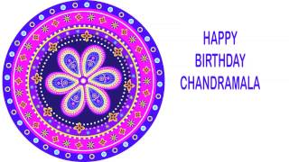 Chandramala   Indian Designs - Happy Birthday