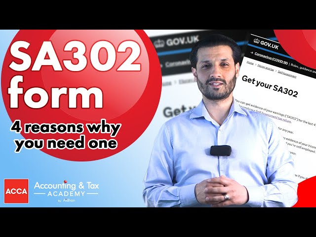 SA302 - How To Get Yours in 2021