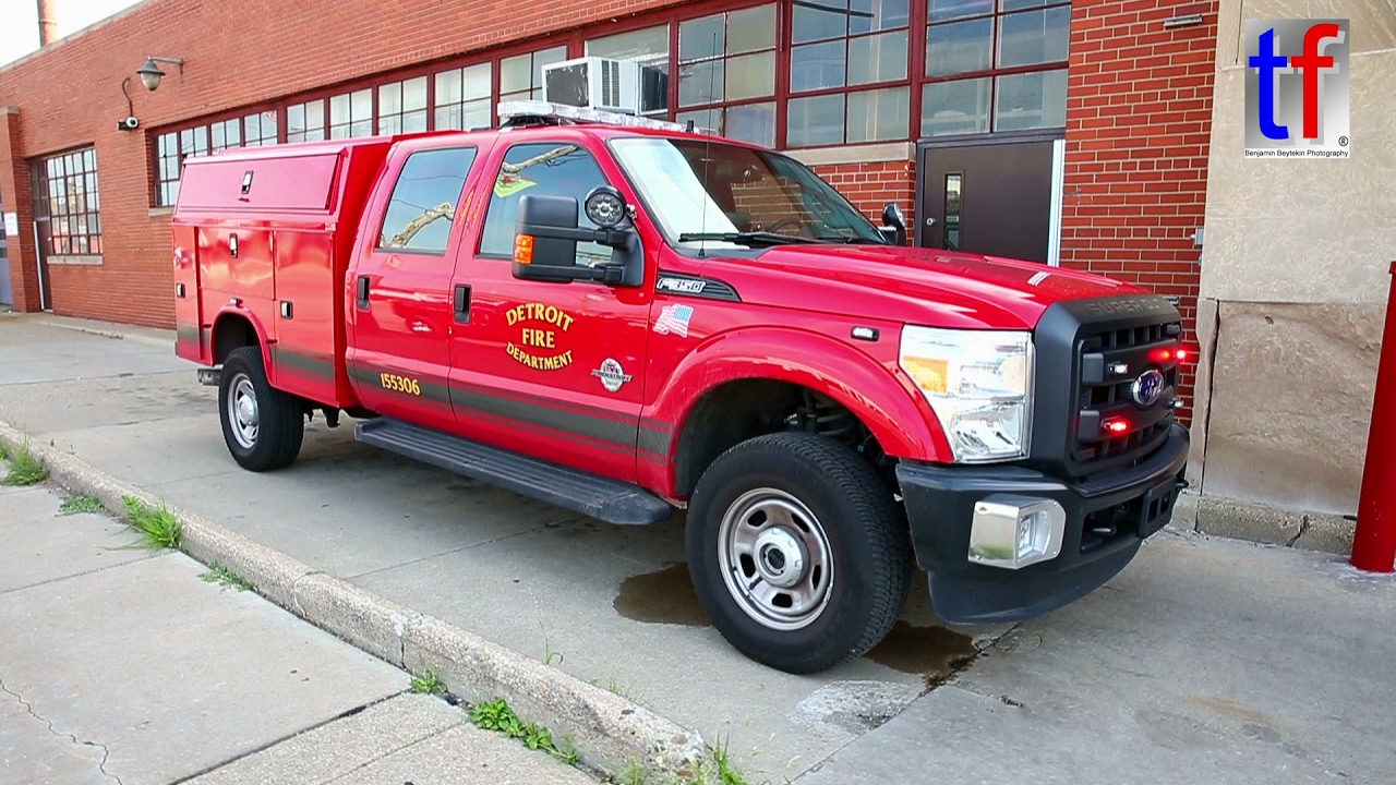 Detroit Fire Department: FORD F-350 & DODGE Ram Pick-Ups ...