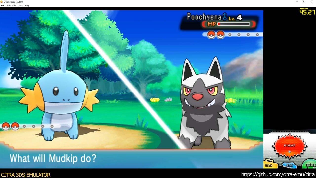 Citra 3DS Emulator - Pokémon Alpha Sapphire / first 48 minutes / ingame  1080p
