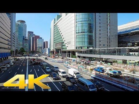 Walking around Umeda Kita-ku, Osaka Part1 - Long Take【大阪・梅田】 4K