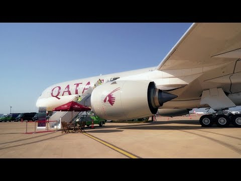 Eurasia Airshow 2018 - Qatar Airways