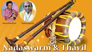 Nadaswaram & Thavil   For Marriage Functions   Classical Instrumental   Jayashankar & Valayapatti