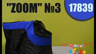 Сумка для собак и кошек ZOOM №3 45  27  30см черная