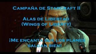 SC2: ME ENCANTA QUE LOS PLANES SALGAN BIEN (Maquina de destrucción, BRUTAL, Campaña de Starcraft 2)