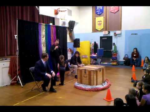 "Maple Street School Vernon Doctor Seuss Birthday - ""Magic of Reading"" assembly program"