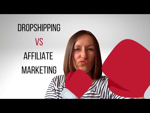 Dropshipping vs Affiliate Marketing - Let's get you profitable! thumbnail