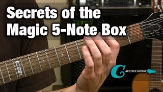 RHYTHM GUITAR Unlocking The Secrets Of The Magic 5 Note Box