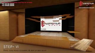 Stage Flooring - Detailed specification