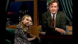 "Conan & Andy Quiz A Spelling Bee Champion - ""Late Night With Conan O'Brien"""