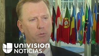 """Michael Fitzpatrick: """"El gobierno de Estados Unidos está muy preocupado por la crisis en Venezuela"""""""