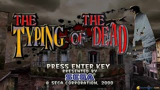 The Typing of the Dead gameplay (PC Game, 2000)