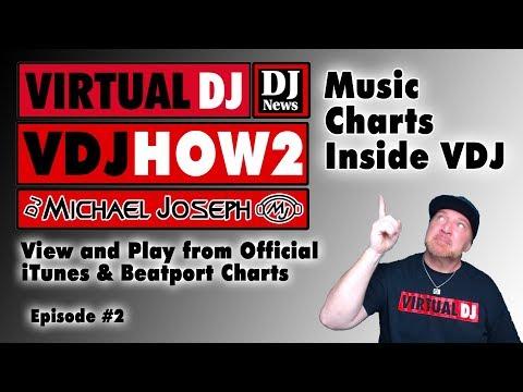 Official ITunes And Beatport Music Charts Inside VDJ - VDJHOW2 E2 W/ DJ Michael Joseph