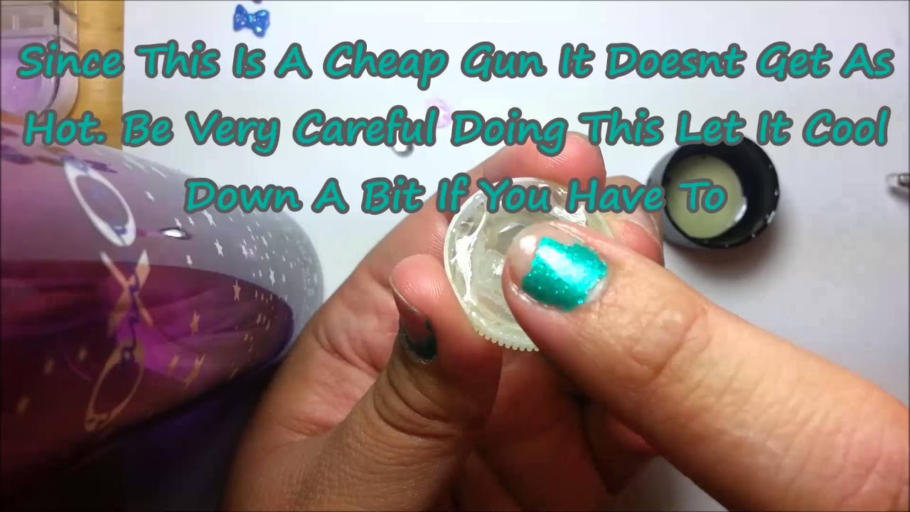 D.I.Y. Molds For Making 3D Nail Art (Using A Glue Gun!) - YouTube