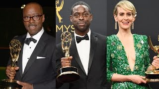 The Cast of  'People v. O. J. Simpson Win Big At 2016 Emmy Awards