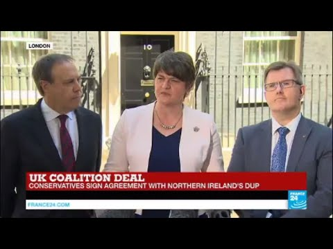 REPLAY - Northern Ireland's DUP sign deal to back UK Conservative government