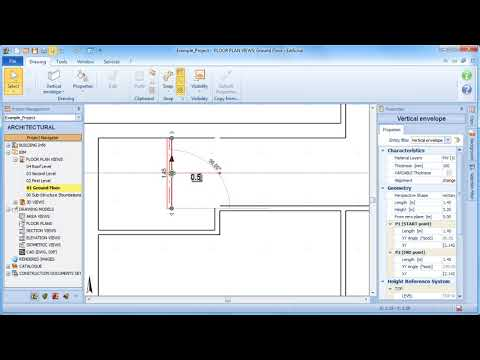Edificius Tutorial - Moving the building envelope entities - ACCA software