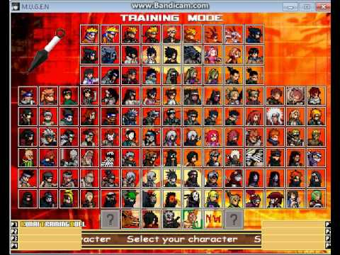 Naruto M.U.G.E.N PC Game