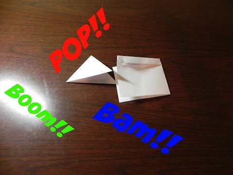 2 Types of Paper Poppers| Video Bros