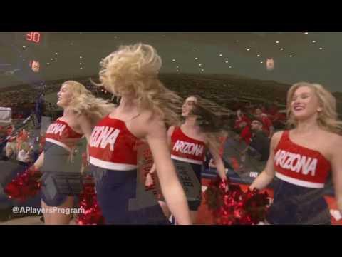 2017 University of Arizona Wildcats Mens Basketball BEAR DOWN!!!