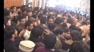 Ansar Party Lahore - Mujh Ko Maloom Hai Abid a.s Pe Qyamat