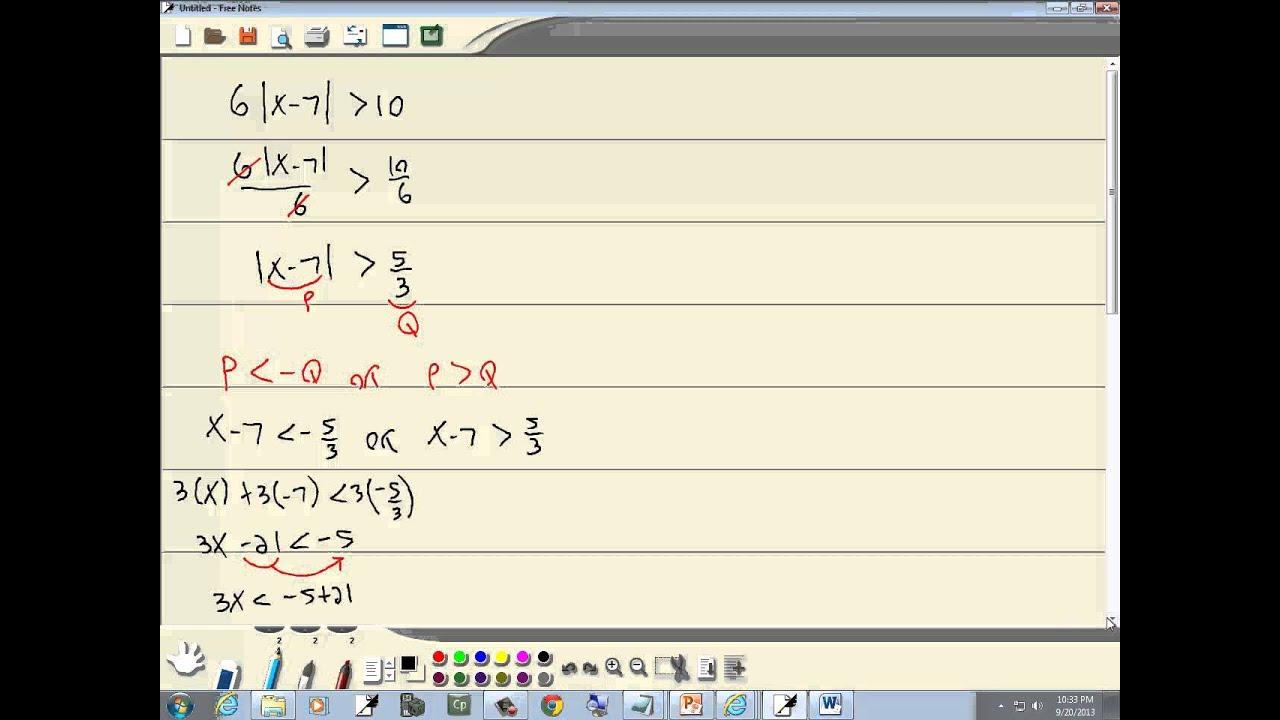 Intermediate Algebra Help